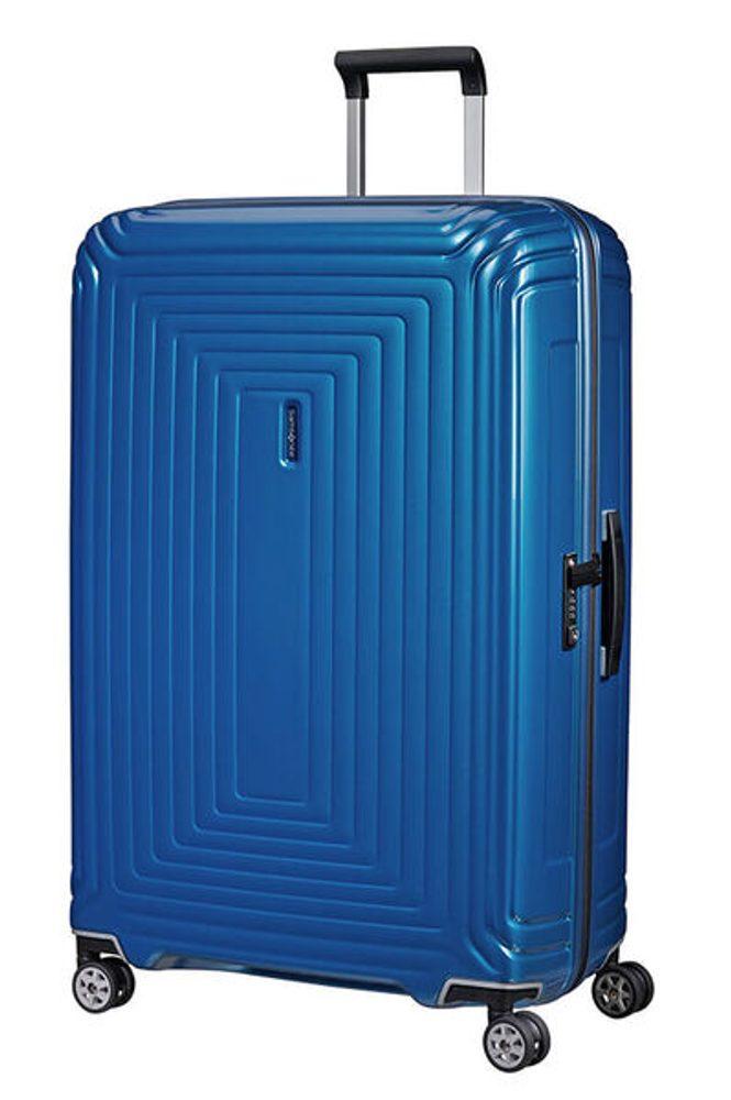Samsonite Cestovní kufr Neopulse Spinner 44D 124 l - METALLIC INTENSE BLUE