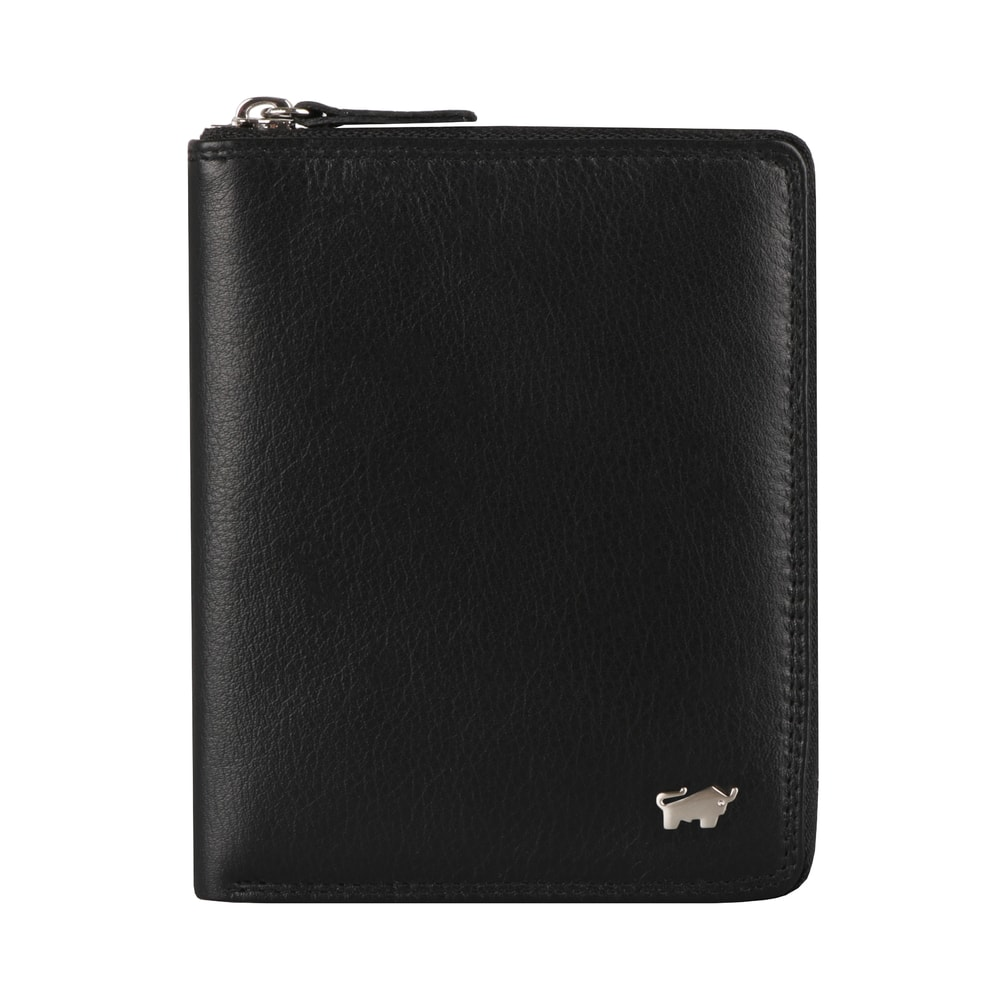Braun Büffel Pánská kožená peněženka Golf 2.0 90452-051 - černá