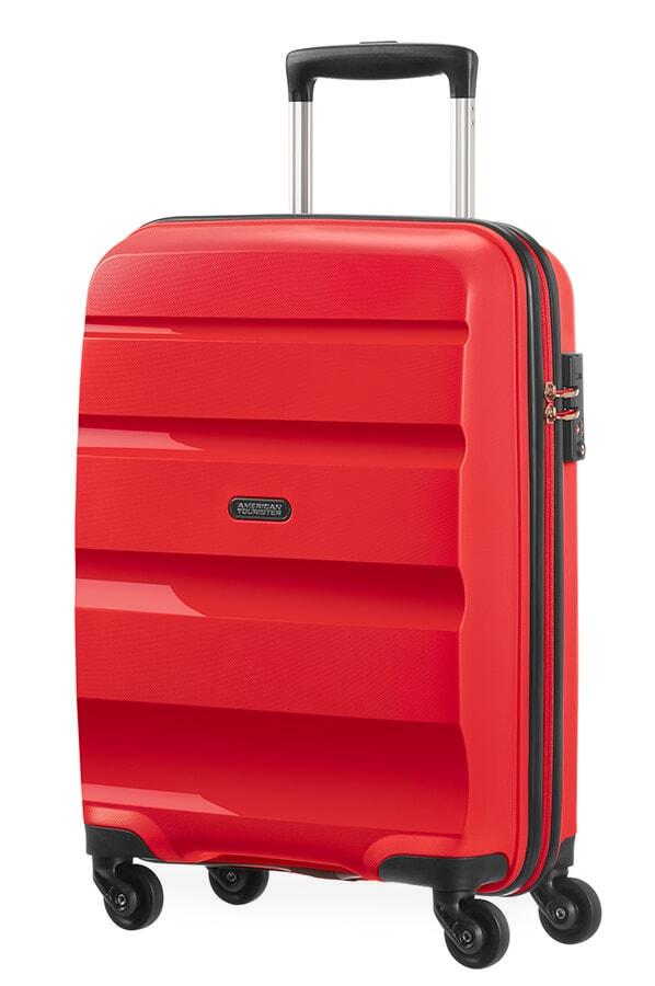 American Tourister Kabinový cestovní kufr Bon Air Spinner 85A 31,5 l - červená