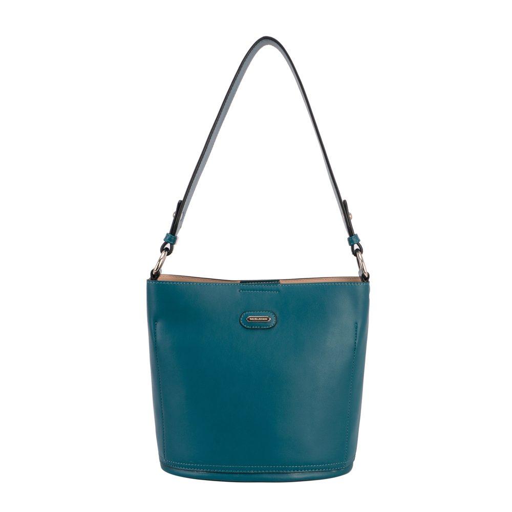 David Jones Paris Dámská kabelka přes rameno CM5714A - modrá