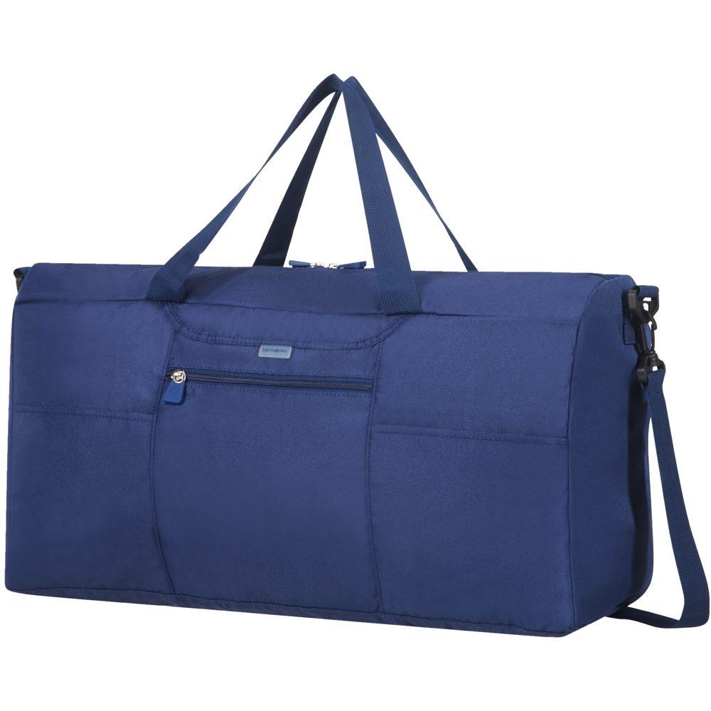 Samsonite Skládací cestovní taška - modrá