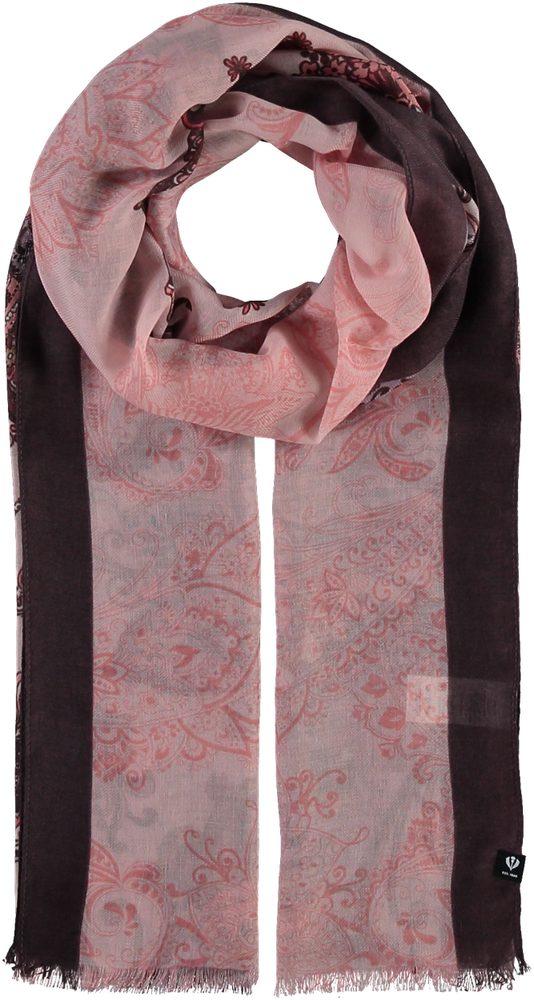 Fraas Dámský obdélníkový šátek 602032 - růžová