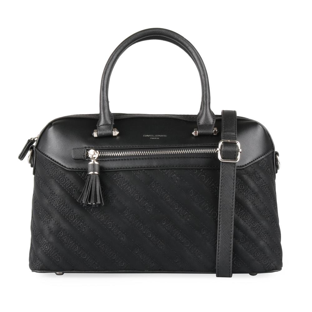 David Jones Paris Dámská kabelka do ruky 6009-3 - černá