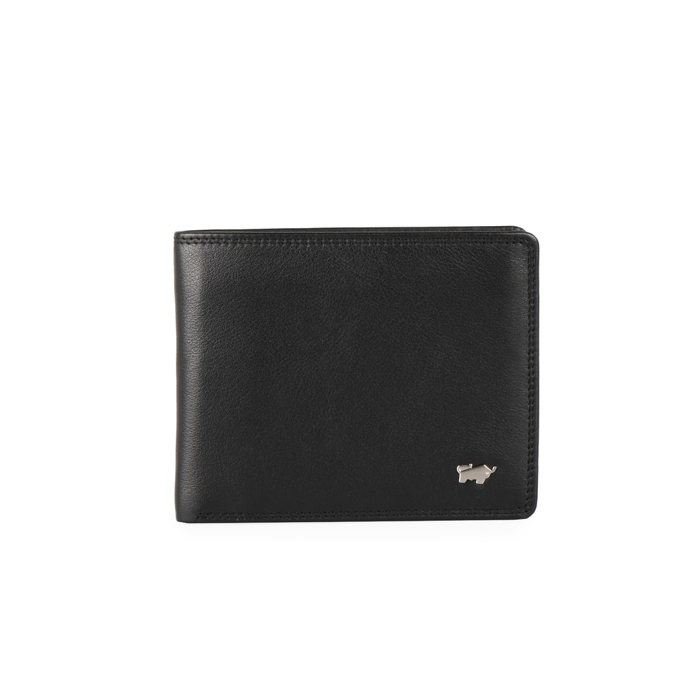 Braun Büffel Pánská kožená peněženka Golf 90336-051 - černá