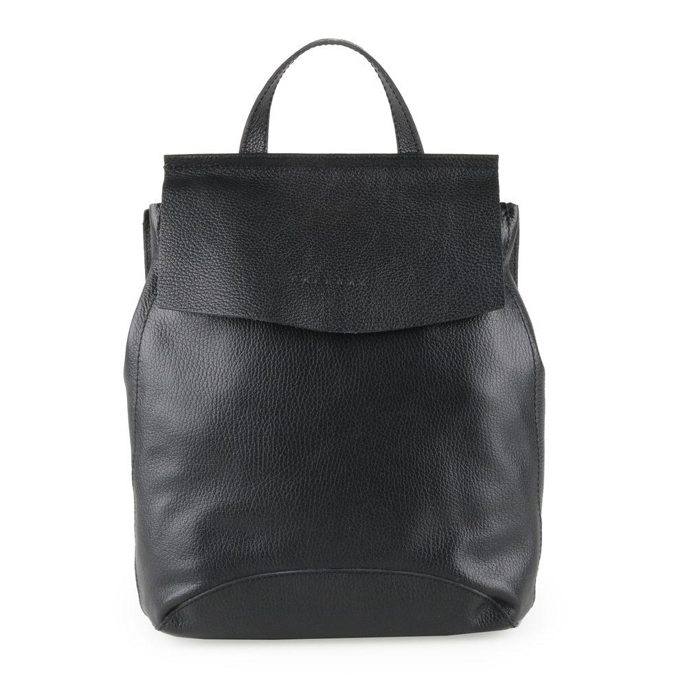Unidax Dámský kožený batoh Facebag Kenny 8018 - černá