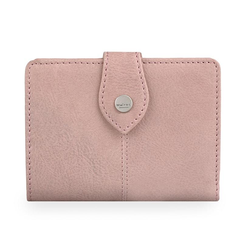 Maitre Dámská kožená peněženka Lemberg Davina 4060001392 - starorůžová
