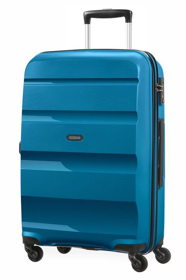 American Tourister Cestovní kufr Bon Air Spinner 85A 57,5 l - modrá