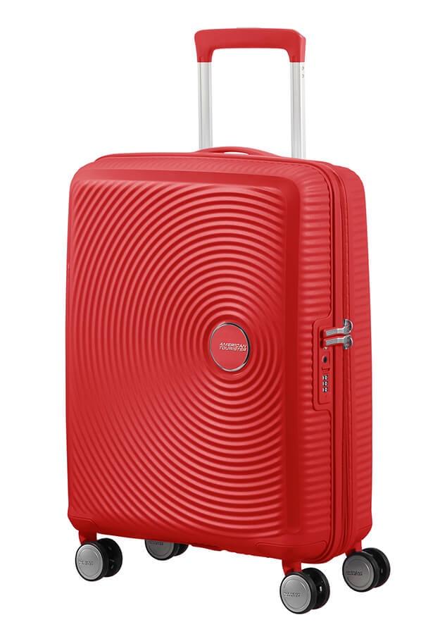 American Tourister Kabinový cestovní kufr Soundbox EXP 35,5/41 l - červená