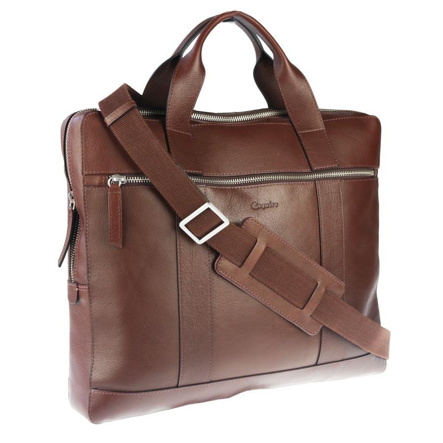 c085a45b9e Pánska kožená taška 781406 - Esquire - Tašky cez rameno - Pánske ...