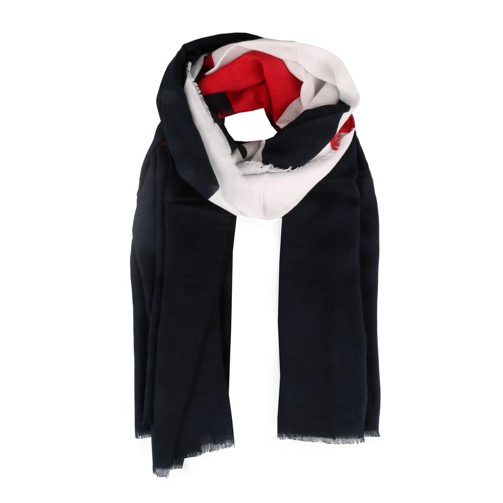 9282137b3 Dámský bavlněný šátek Chevron Mascot AW0AW06012 - Tommy Hilfiger ...