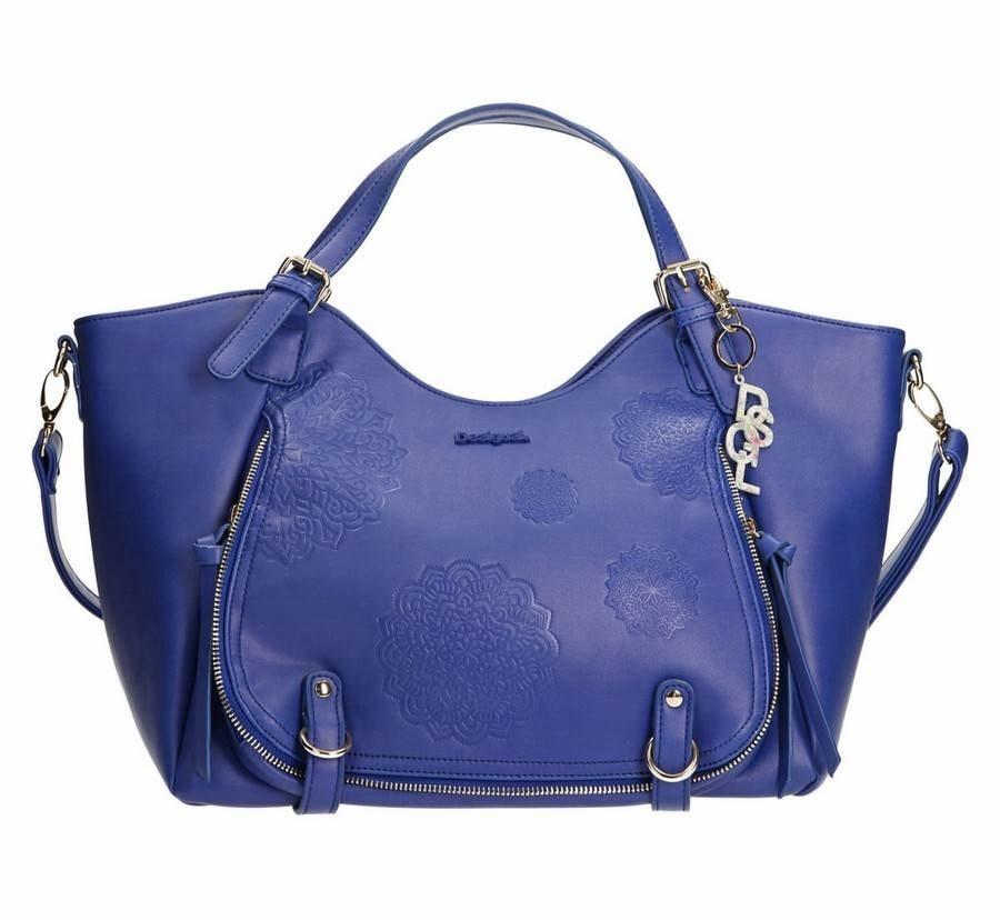 a5044e614 Dámská kabelka Desigual 61X50F55015 - modrá - Desigual - Kabelky do ...
