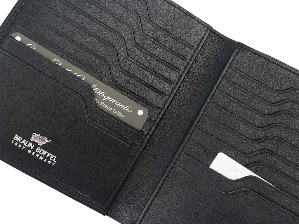 ee4027366 Pánske kožené puzdro na doklady Braun Büffel 92470-051-010 čierne ...