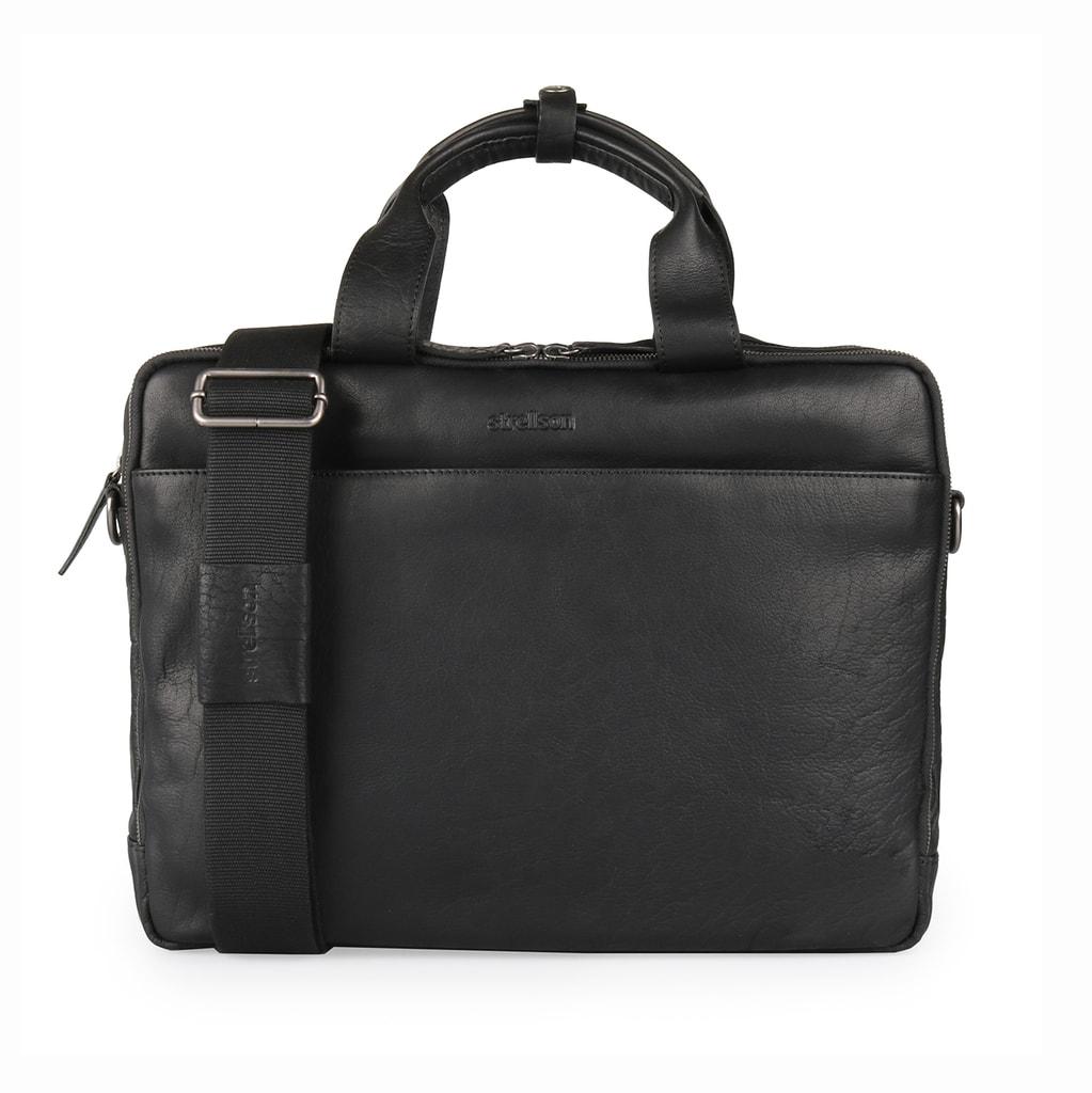 c73b98fee Luxusní pánská kožená taška do ruky i přes rameno od švýcarské značky  Strellson - nepostradatelný doplněk vašeho formálního outfitu.