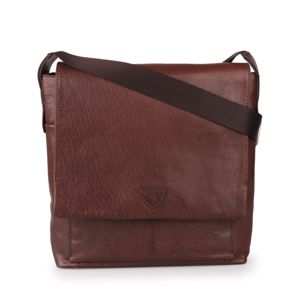 ba1dc8f56771 Pánska kožená taška cez rameno Brenta Belos 4140003467-702 hnedá ...