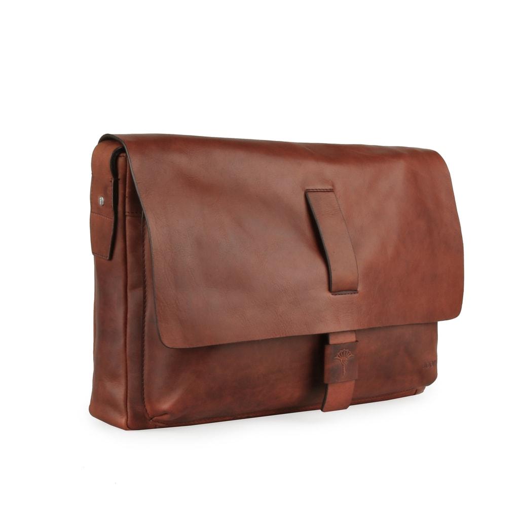 bd5d047e1 Pánska kožená taška cez rameno Loreto 4140003464 - JOOP! - Tašky cez ...