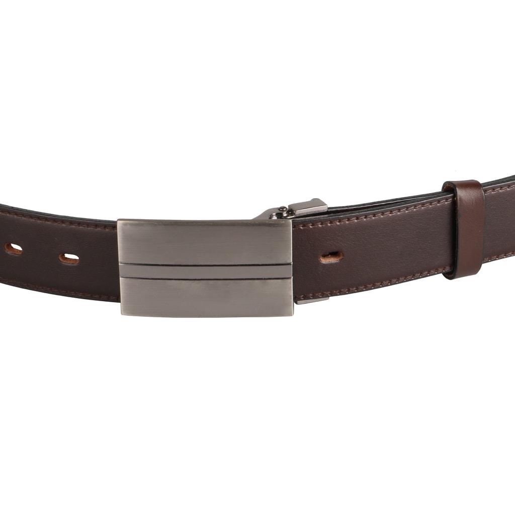 97df4198c Pánsky kožený opasok 35-020-8-PS, hnedý - Penny Belts - Pánske ...