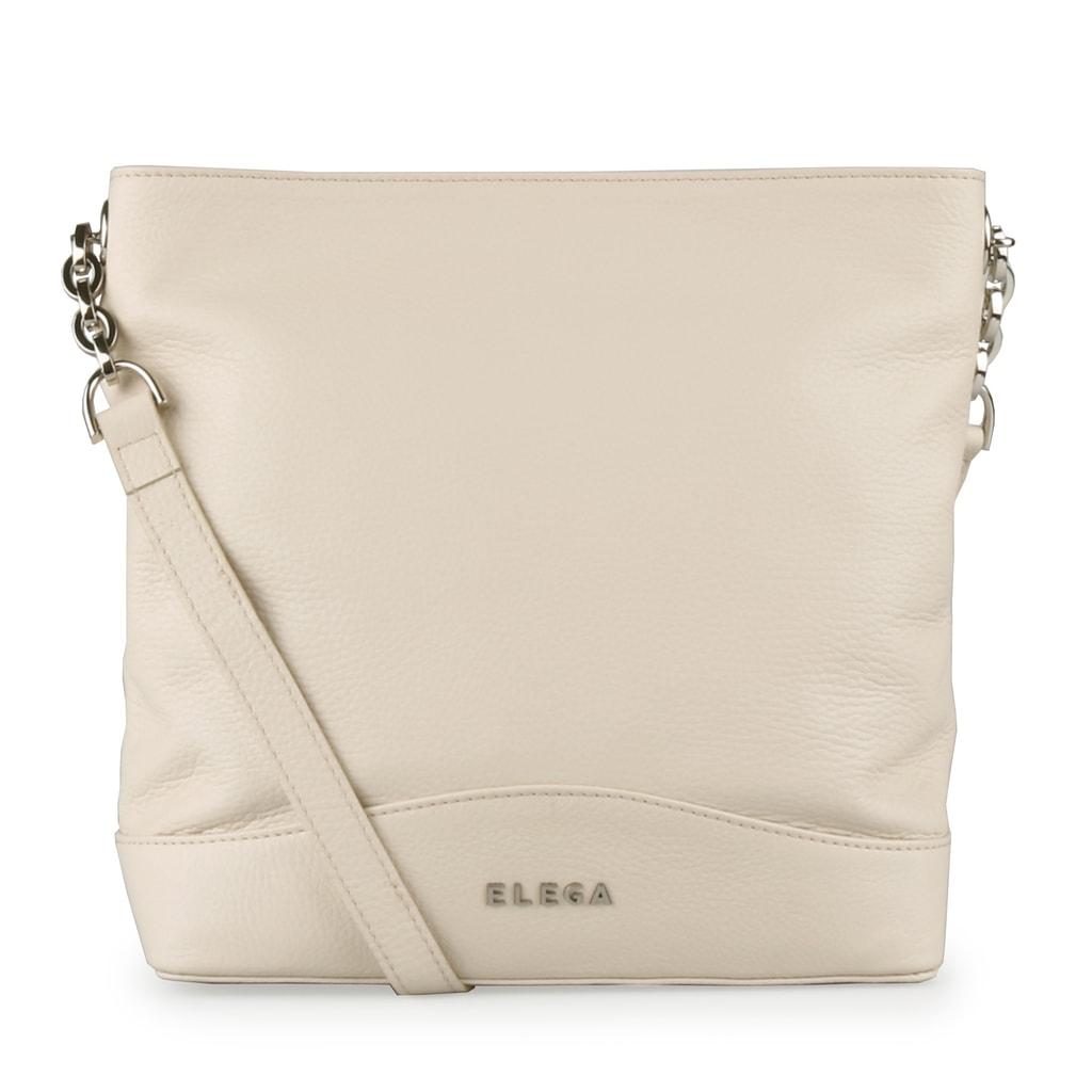 699130b956 Elegantní kožená kabelka od české značky Elega se stane vaším oblíbeným  módním doplňkem.
