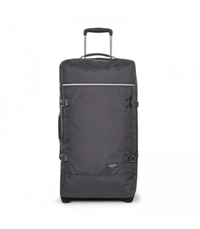 57fa55b61886d Priestranná cestovná taška značky Eastpak na dvoch kolieskach s  integrovaným TSA zámkom je vyrobená z vodeodolného a odľahčeného materiálu.