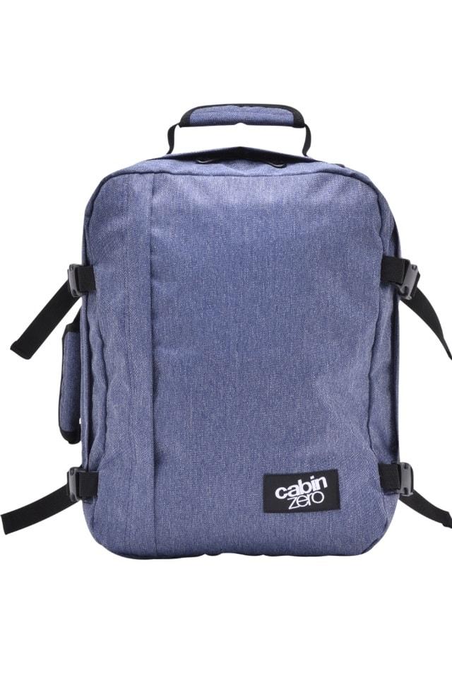 85c51edbf7 ... MINI ULTRA-LIGHT BLUE JEAN 28 L - MĚSTSKÉ BATOHY  Palubní zavazadlo  CabinZero vydrží zaručeně deset až dvacet pět let.