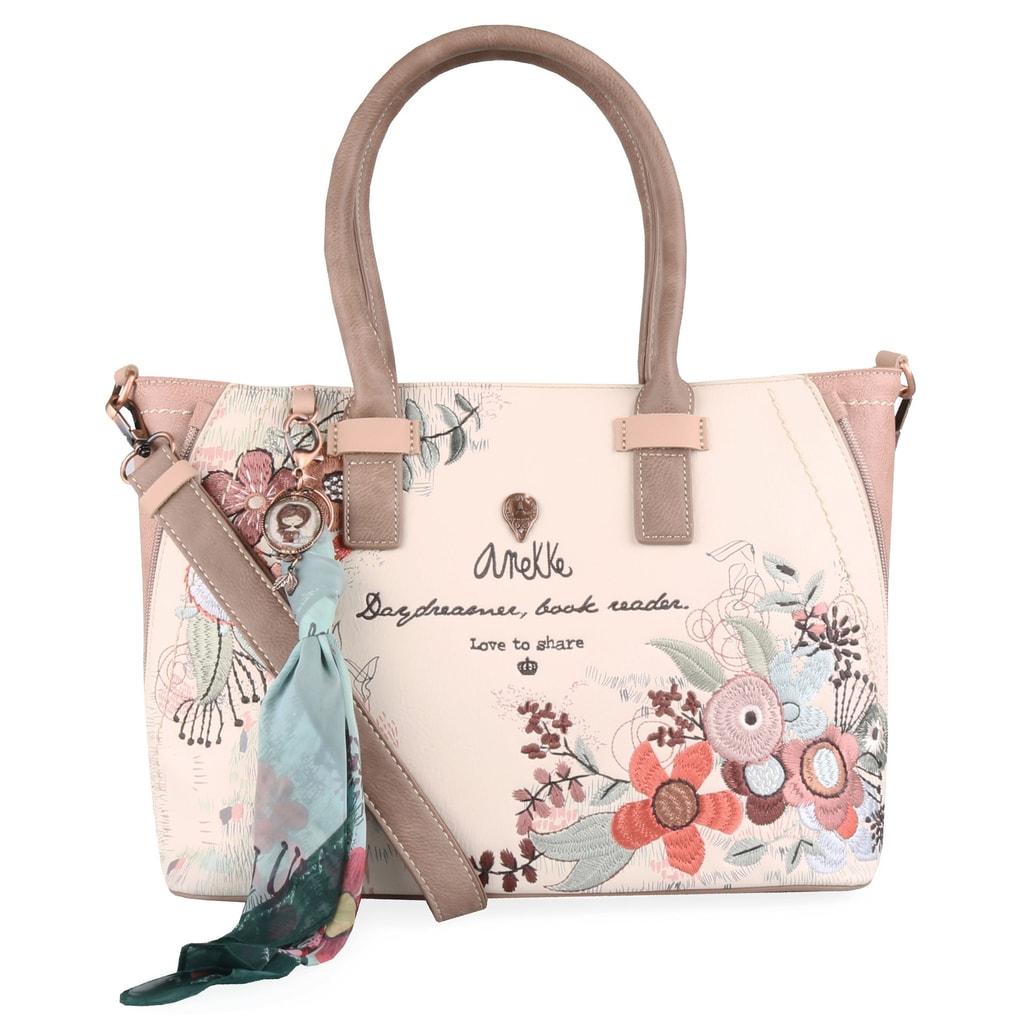 c0a48af9cf Premyslená dámska kabelka Anekke z kolekcie Jane je úžasnou kombináciou  jemného vzhľadu a skvelých organizačných prvkov.