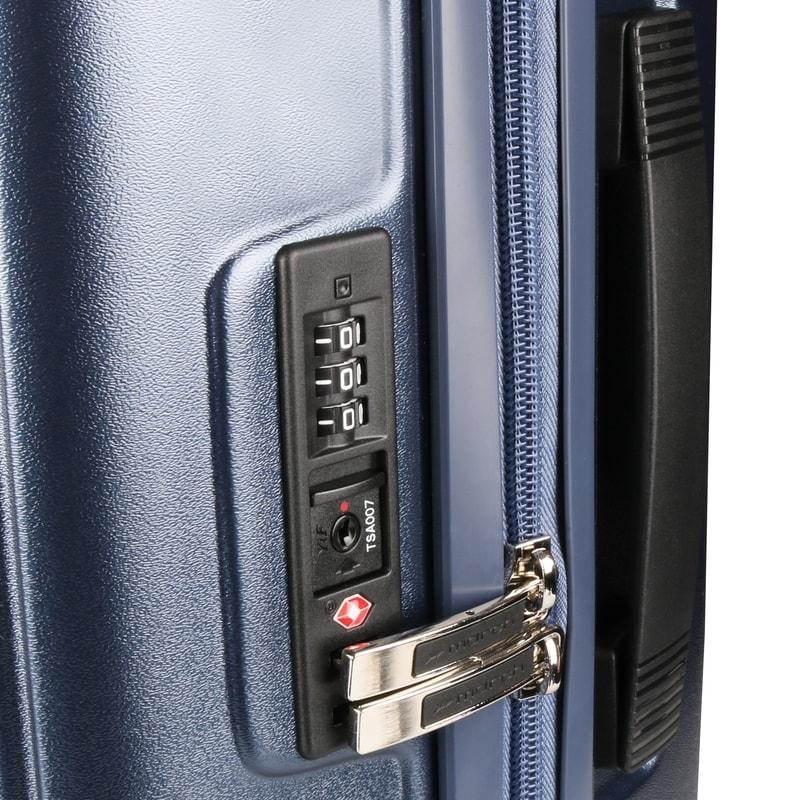 2601b37d37dc2 Veľkosť S, M, L: súčasťou je tiež integrovaný trojčíselný TSA zámok, ktorý  je celosvetovo uznávaný a je možné ho pri bezpečnostných kontrolách bez ...
