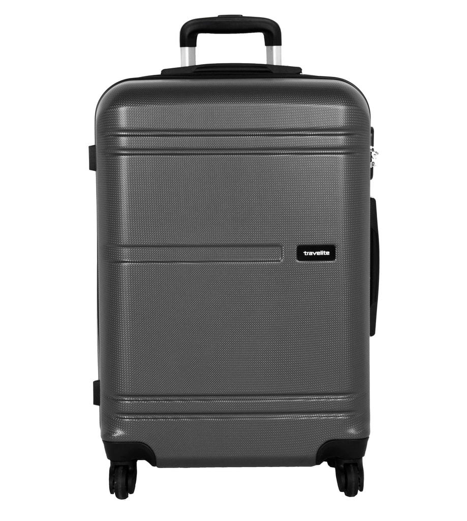 8f6d0cb76d132 Štýlový škrupinový kufor z ABS plastu na štyroch kolieskach od značky  Travelite z limitovanej série Yamba.