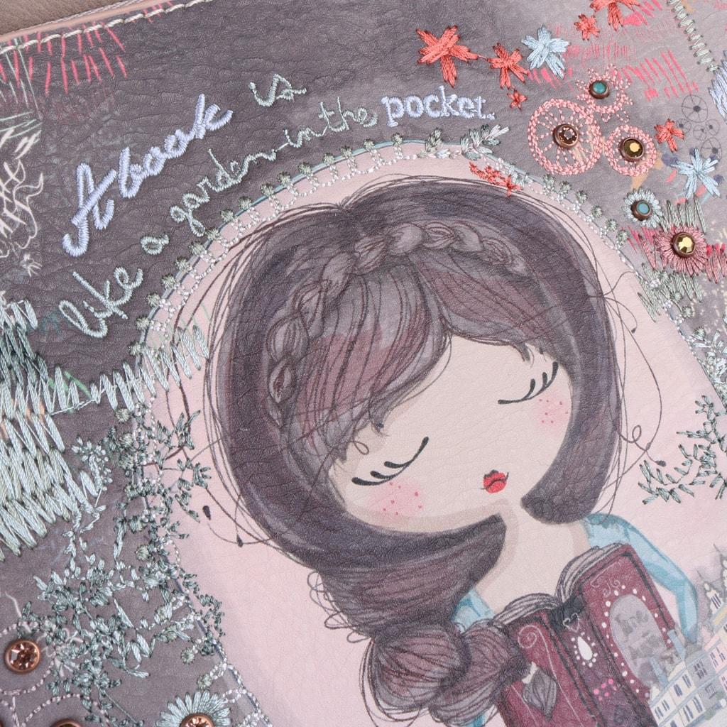 5726079404 Dámská kabelka přes rameno od oblíbené značky Anekke z kolekce Jane je  vyrobena ze syntetické kůže.