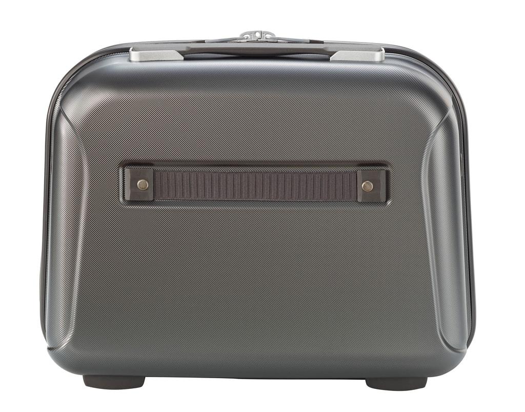 cd738abb82c20 Na zadnej strane kozmetického kufríka je smartsleeve, vďaka ktorému môžete  kozmetický kufrík pohodlne pripevniť na rukoväť vášho kufra a uľahčiť si  tak jeho ...