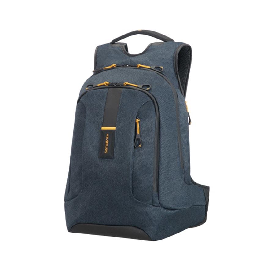26277d950b Velký batoh na notebook Samsonite PARADIVER 01N 003-21 džínově modrý přední  pohled ...