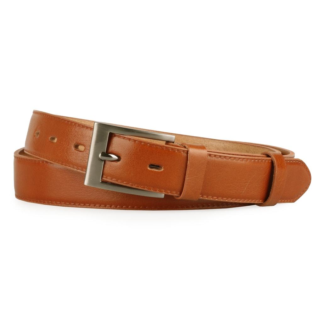 a519cc960 Pánský kožený opasek od značky Penny Belts - stylový doplněk na každodenní  nošení.