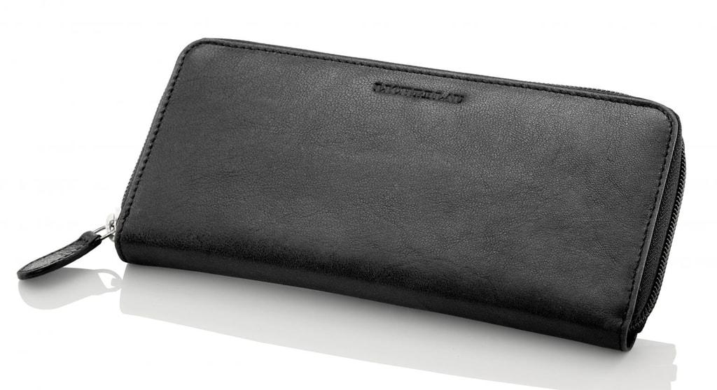 f184d38c1a Uchovávajte svoje financie štýlovo v priestornej dámskej peňaženke z pravej  kože od značky Travelite.