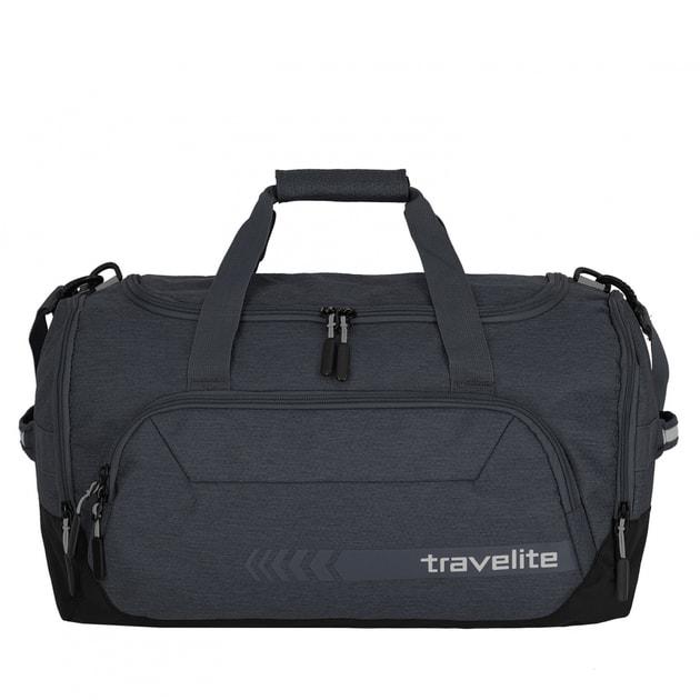 0b5efcfd1fbdc Cestovná taška Kick Off Duffle M 45 l tmavo šedá - Travelite - Cestovné  tašky - Cestovné kufre a tašky - Delmas.sk