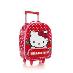 HEYS, TROLER DE CABINĂ SOFT HELLO KITTY RED 21 L - GENȚI DE COPII
