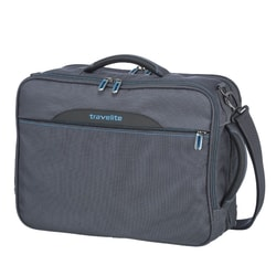 TRAVELITE, TAŠKA NA NOTEBOOK/BATOH 2V1 CROSSLITE ANTHRACITE 23/28 L - BATOHY NA NOTEBOOK