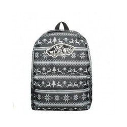 db4b47d76 Dámský batoh REALM BACKPACK HOLIDAY BLACK V00NZ0KQL 22 l. VANS