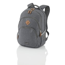 "TRAVELITE, BATOH NA NOTEBOOK MELANGE ANTHRACITE 22 L 15.6"" - BATOHY NA NOTEBOOK"