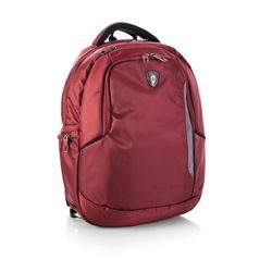 HEYS, BATOH NA NOTEBOOK TECHPAC 04 BURGUNDY 15,6'' - BATOHY NA NOTEBOOK