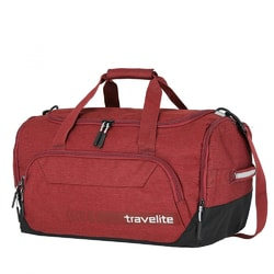 1f4cc5cc3a935 Cestovná taška Kick Off Duffle M 45 l červená