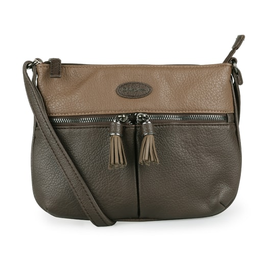 DAVID JONES PARIS, DÁMSKA CROSSBODY KABELKA 6123-1 - CROSSBODY KABELKY - KABELKY