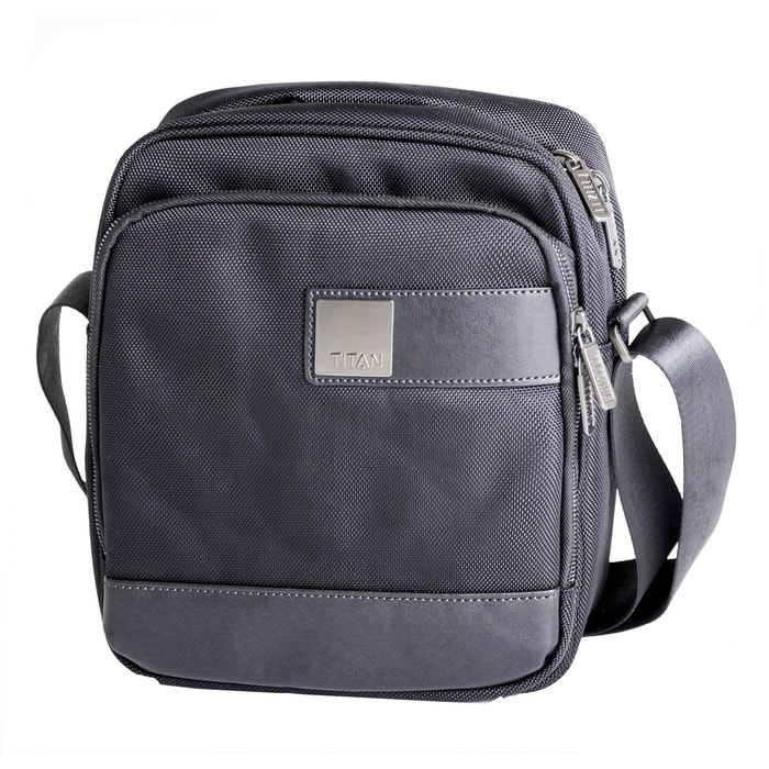 TITAN, TITAN POWER PACK SHOULDER BAG BLACK - TAŠKY NA NOTEBOOKY A DOKUMENTY - KABELKY