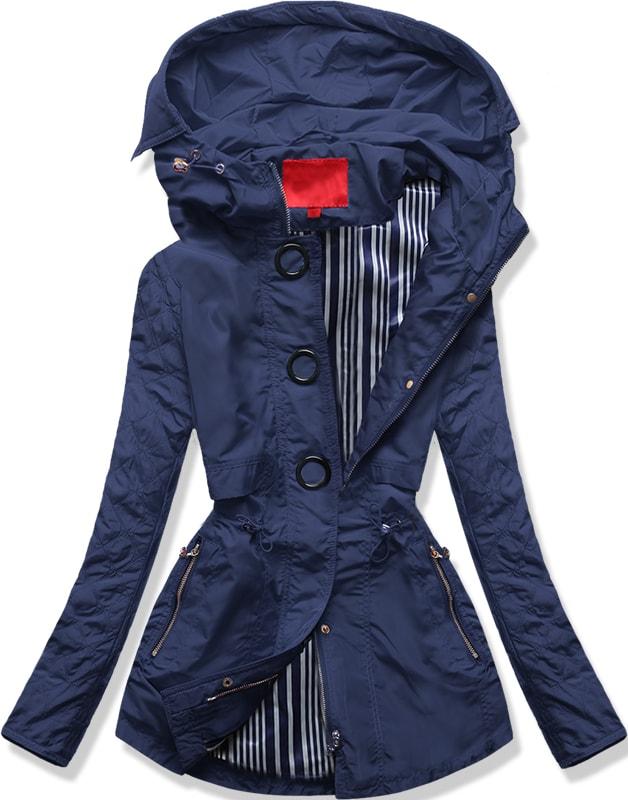 MODOVO Dámska prechodná bunda P01B modrá