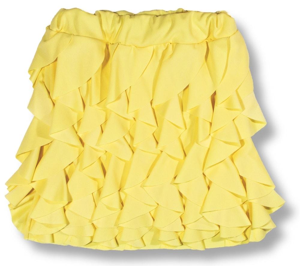MODOVO Dámska sukňa žltá - UNI