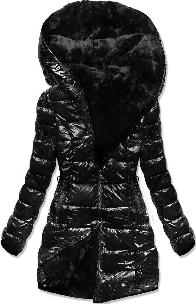 MODOVO Zimní oboustranná  bunda černá