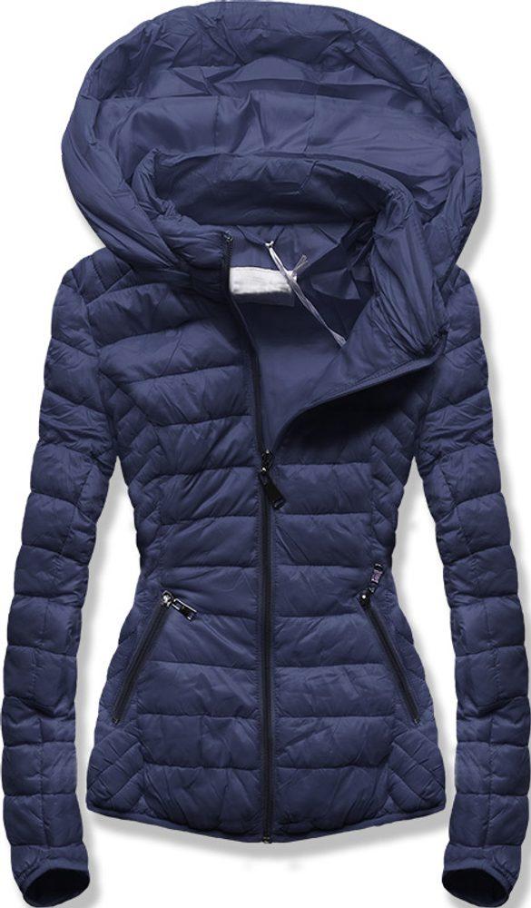 MODOVO Dámska prechodná bunda modrá - XL
