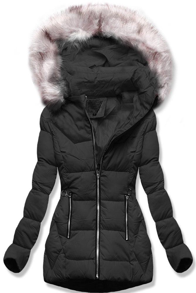 MODOVO Dámska zimná bunda čierna - M