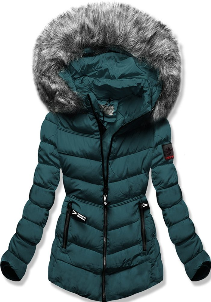 MODOVO Dámská zimní bunda zelená