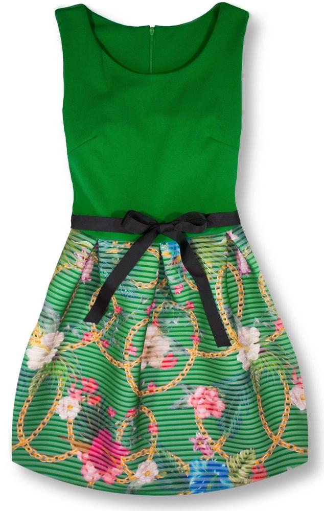 MODOVO Dámske šaty zelené