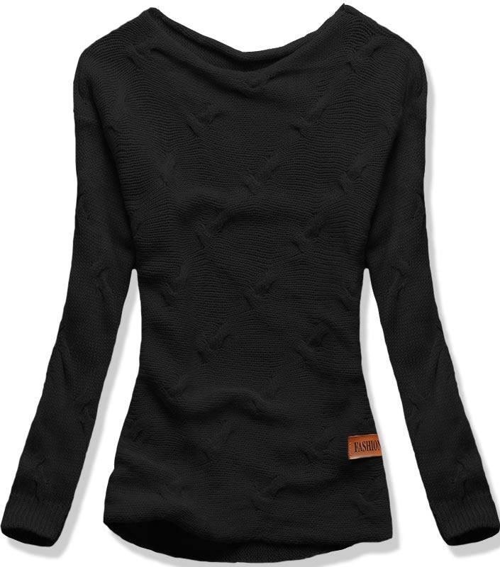 MODOVO Dámsky sveter BR01 čierny