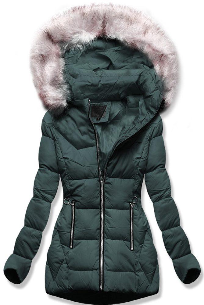MODOVO Dámska zimná bunda zelená - L