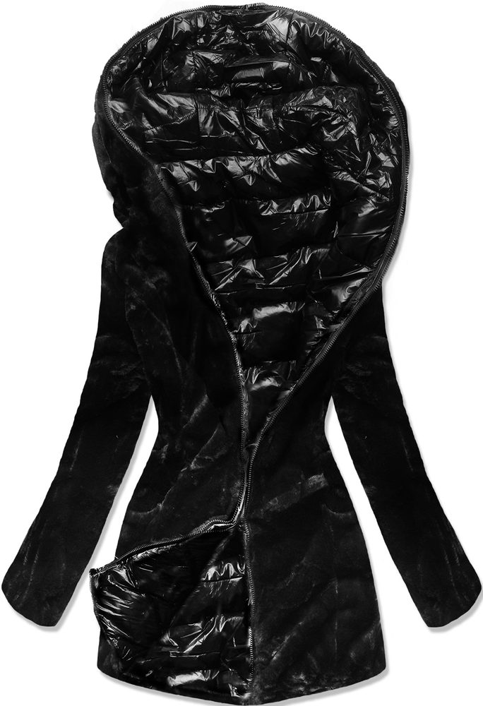 MODOVO Zimná bunda čierna - M